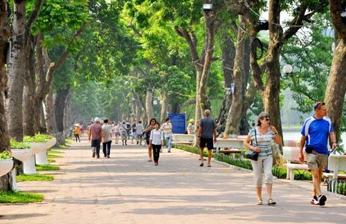 Hà Nội: 16 tuyến phố quanh hồ Gươm cấm xe lưu thông dịp cuối tuần