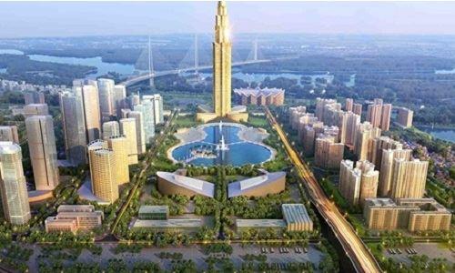 Hà Nội sắp có tòa nhà cao nhất Việt Nam.108 tầng