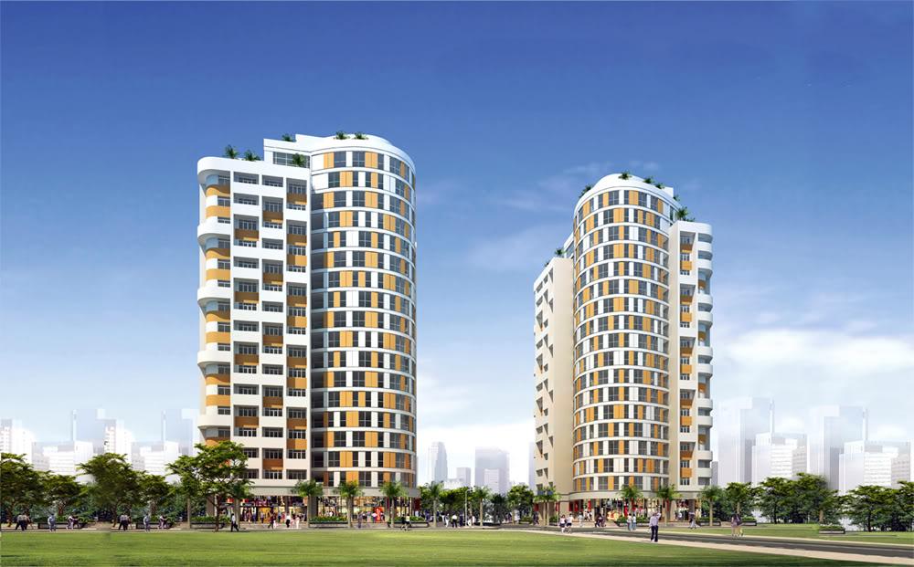 Phối cảnh dự án Skyway Residence