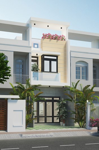 KTS tư vấn làm nhà 3 tầng đủ tiện nghi với 750 triệu ở Sài Gòn