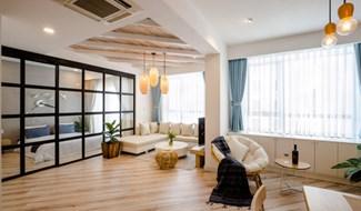 Căn hộ 72m2 đẹp như khách sạn của nữ chủ nhà độc thân