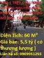 Nhà 1 trệt 1 lầu 60m đường Nguyễn Huệ, Phường 7.Thành phố Mỹ Tho,