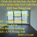 Chính chủ cần bán hoặc cho thuê căn hộ chung cư SUNSHINE CITY CIPUTRA