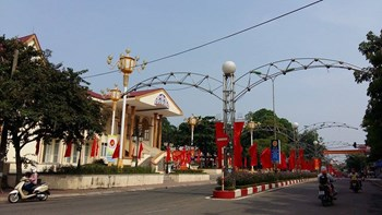 Vĩnh Phúc chính thức được thành lập thành phố Phúc Yên